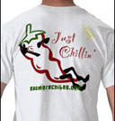 Just Chilling Chile Pepper Tee Shirt