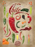 chile pepper poster copyright AZP Worldwide / All Rights Reserved